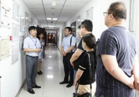 天津市软件行业协会领导一行莅临贝博科技参观指导