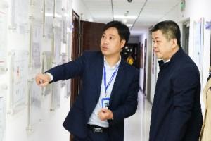 聚焦 | 天津市工商联领导莅临贝博科技调研指导工作